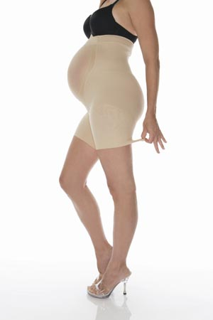 Spanx Power Mama - Thigh Shaper with Tummy Support-0