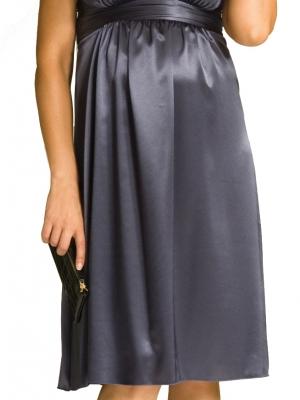 Ripe Maternity - Deluxe Satin Dress-0