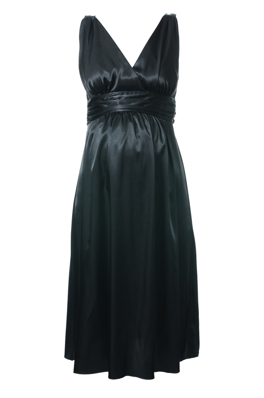 Ripe Maternity - Deluxe Satin Dress-11813
