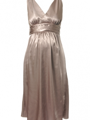 Ripe Maternity - Deluxe Satin Dress-11812
