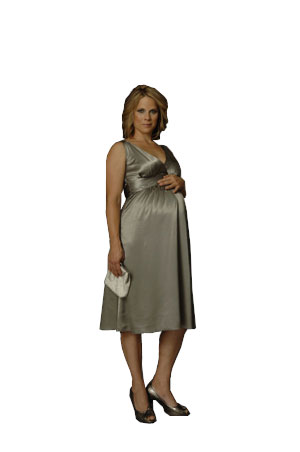 Ripe Maternity - Deluxe Satin Dress-11793