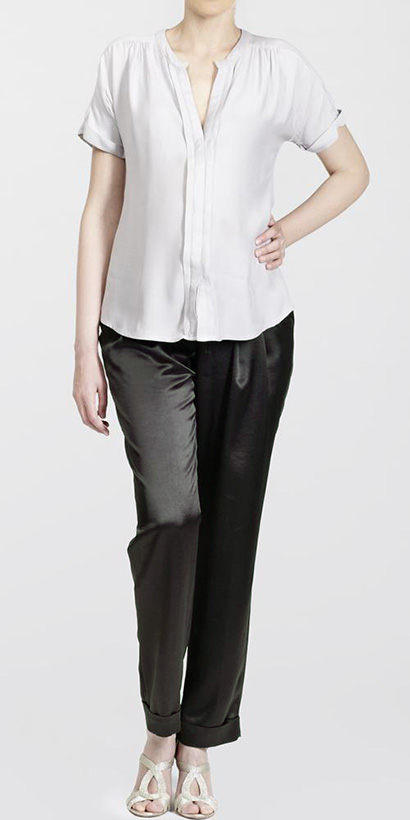 Venice Evening Pleated Trousers