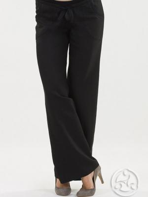 9fashion Carlos Wide Leg Trousers in Black-0