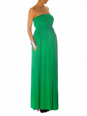 Vanessa Knox PENELOPE Maxi Dress in Leaf-12836