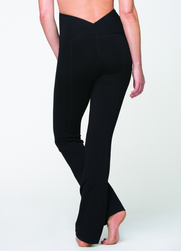 Ingrid & Isabel Active Pants with Crossover Panel