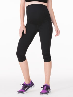 Ingrid & Isabel Active Pant - Knee length