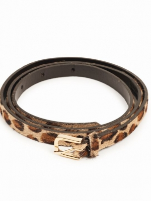 Slacks & Co. Belt - Leopard-0