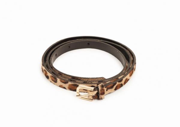 Slacks & Co. Belt - Leopard-0