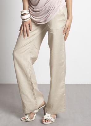 linen summer maternity pants
