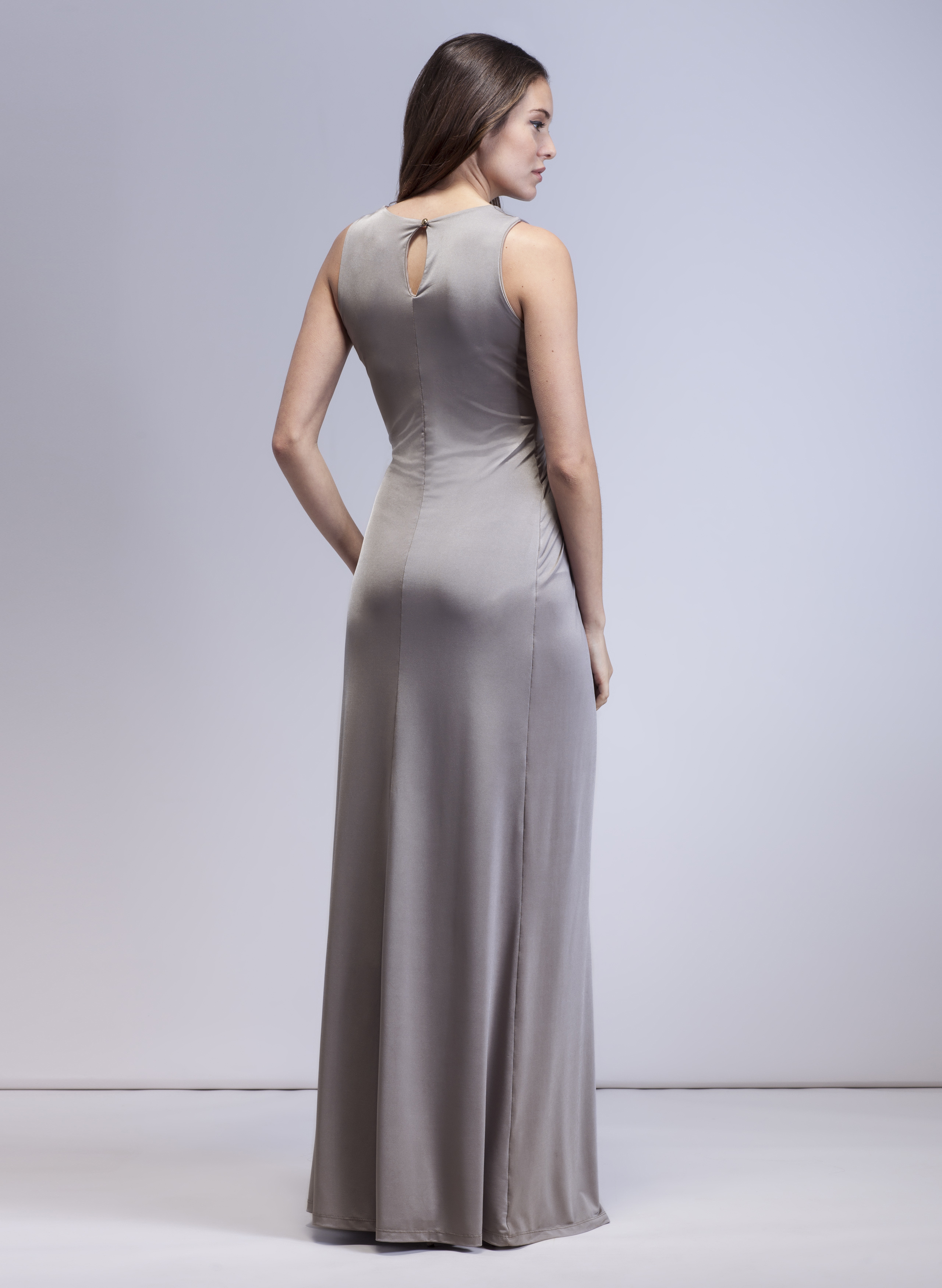 245bd811e7d Florence Maternity Gown in Opal Grey - hautemama