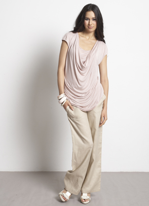 MEV linen summer maternity pants