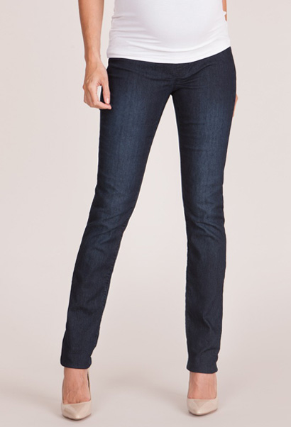 Seraphine Drew Maternity Jeans with slim leg and over the bump band