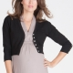 Seraphine Millie Cropped Maternity Cardigan