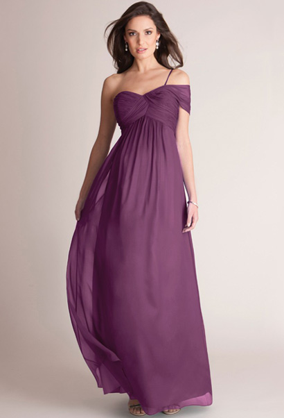 Seraphine Angelica formal gown in berry