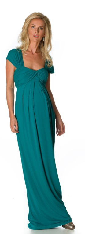 Vanessa Knox Josephine Maxi Dress in Kingfisher