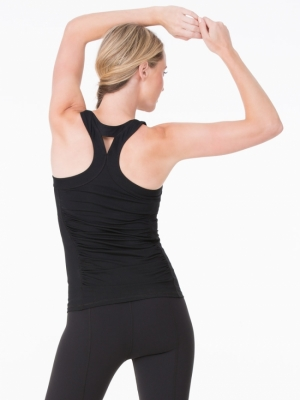 Ingrid & Isabel racerback maternity tank with built-in bra