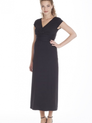 Queen Mum maternity long dress