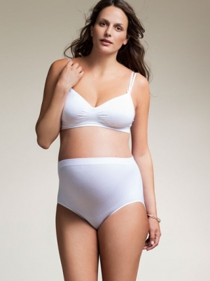 Boob Maternity Briefs with High Waist