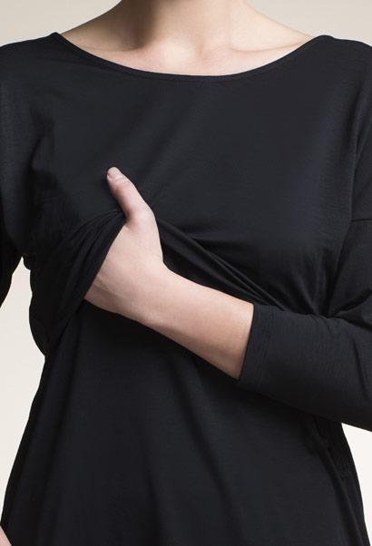 boob nursing dress mira