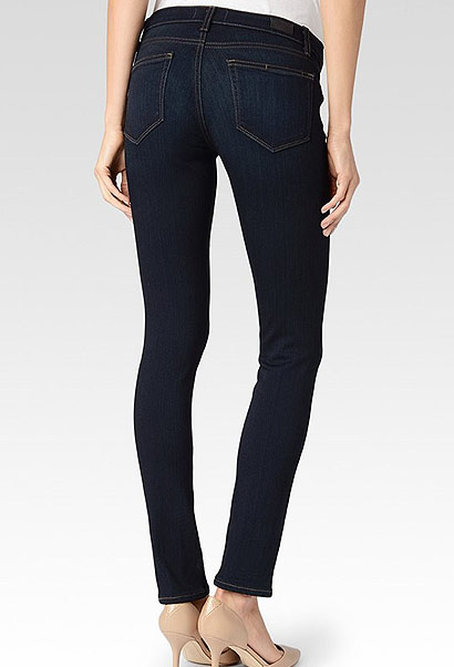 Paige skyline maternity jeans - dark blue wash