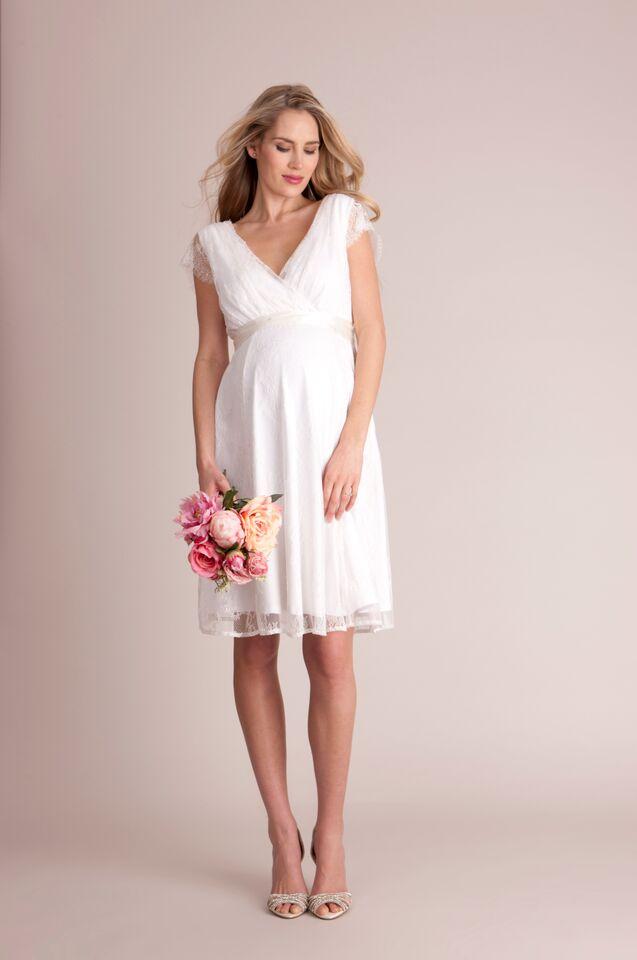 042dbd798b1c2 Luxe Vivienne Ivory lace Maternity Wedding Dress - hautemama