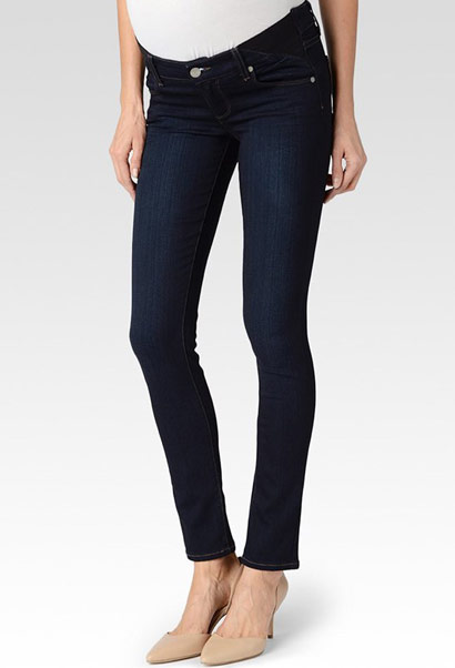 Paige skyline maternity jeans - mona wash