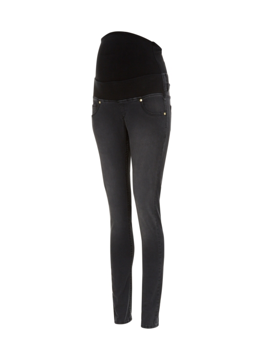 Isabella Oliver Zadie Stretch Maternity Jeans with panel in Charcoal