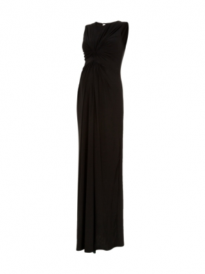 Isabella Oliver Maternity Gown in fluid luxe jersey