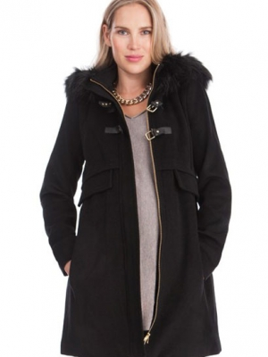 Seraphine Maternity Duffel Coat