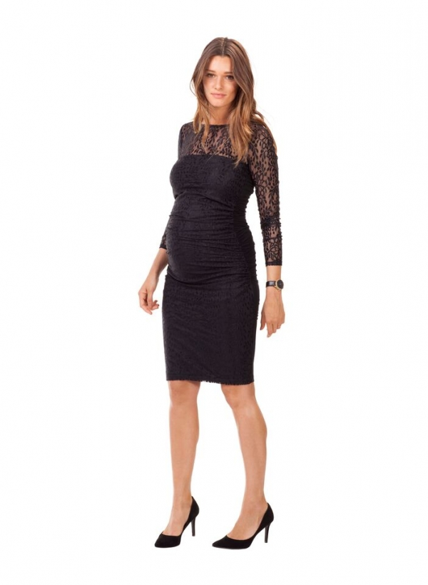 Kinross Maternity lace dress by Isabella Oliver