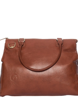 Oemi baby bag in genuine leather