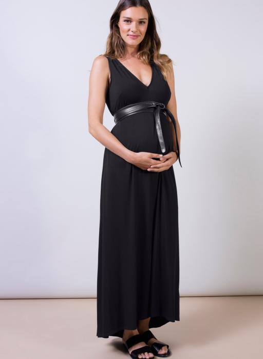 Isabella Oliver Atwell Maternity Maxi Dress-14872