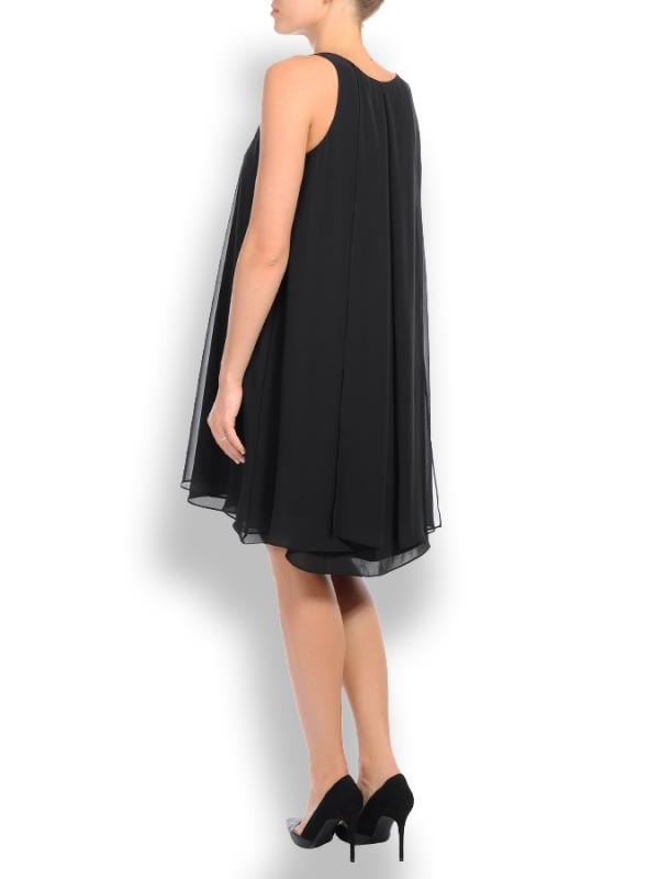 Pietro Brunelli Lago di Como Maternity swing dress in black