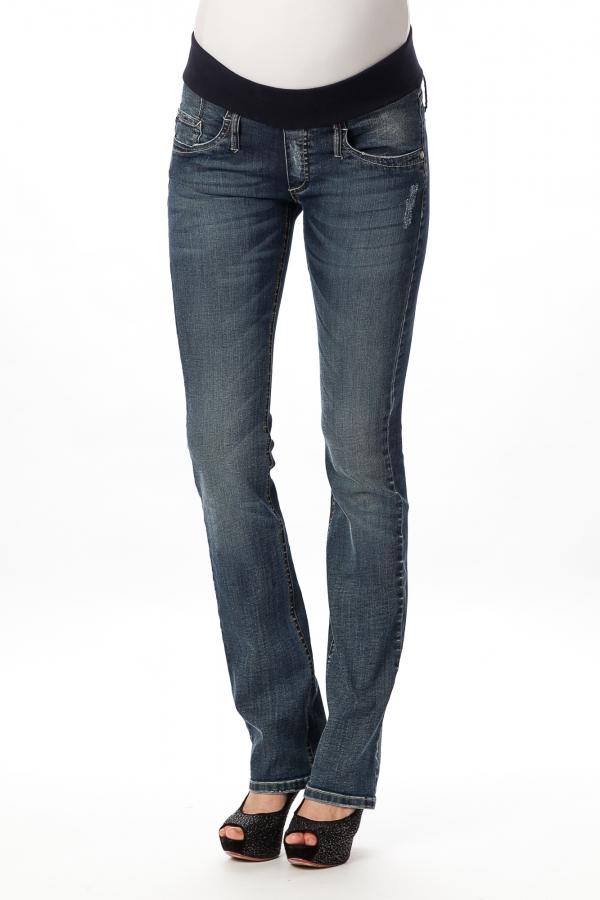 Pietro Brunelli straight stone maternity jeans