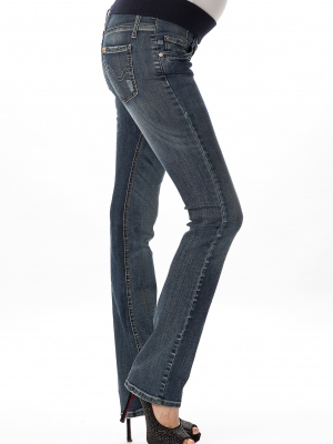 straight stone jeans below the belly maternity jeans