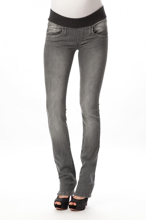 medium grey skinny maternity jeans