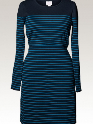 Boob knitted dress - striped