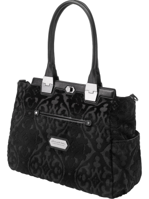 Petunia Pickle Bottom Café Diaper Bag from the Cake Collection