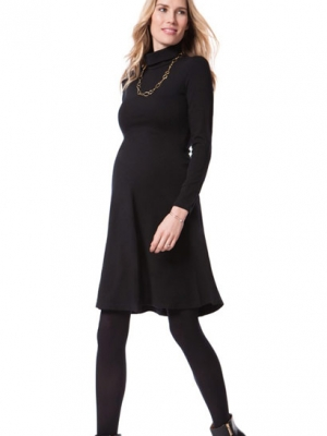 a classic maternity dress that can be worn to the office or to a special occasion