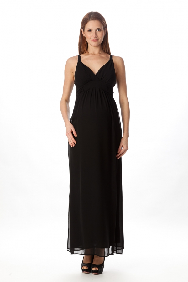 Pietro Brunelli maternity evening gown