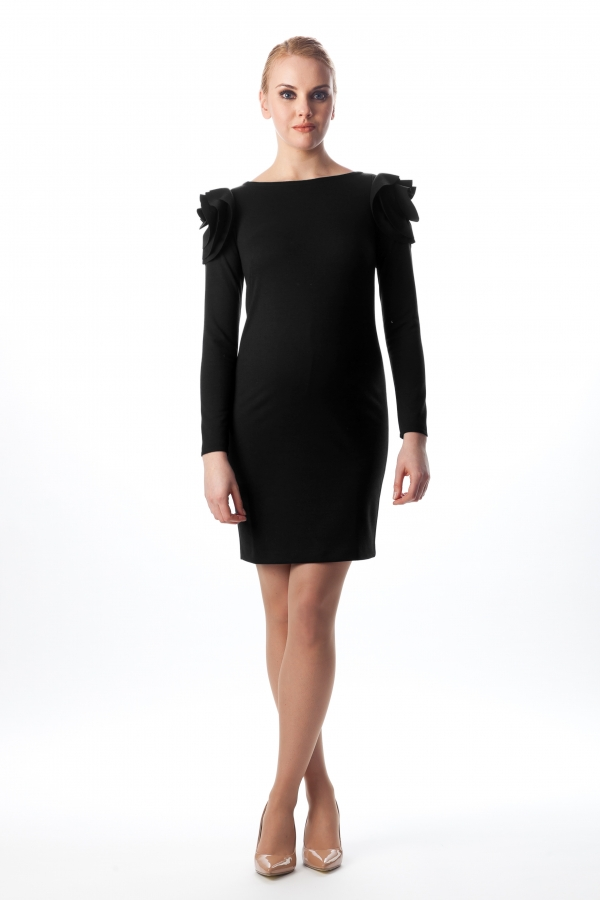 Pietro Brunelli Salisburgo maternity dress in rich jersey