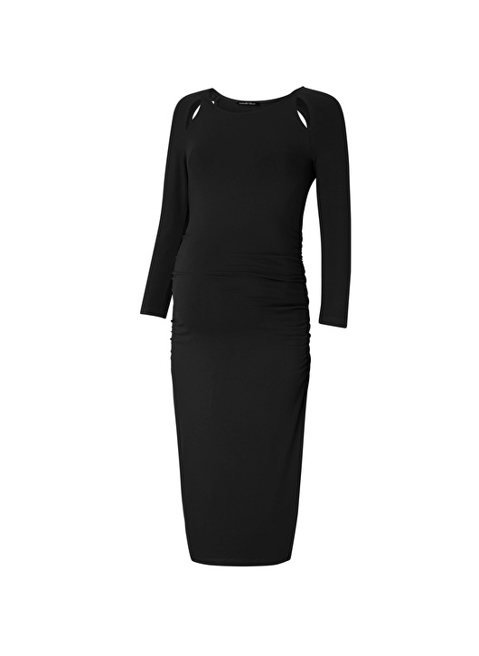 Anetta maternity dress with cut-out detail in front and back