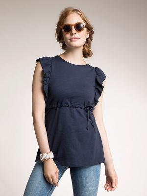 4a1fd333067 Alicia Top in Midnight Blue (Maternity   Nursing) · Boob Design