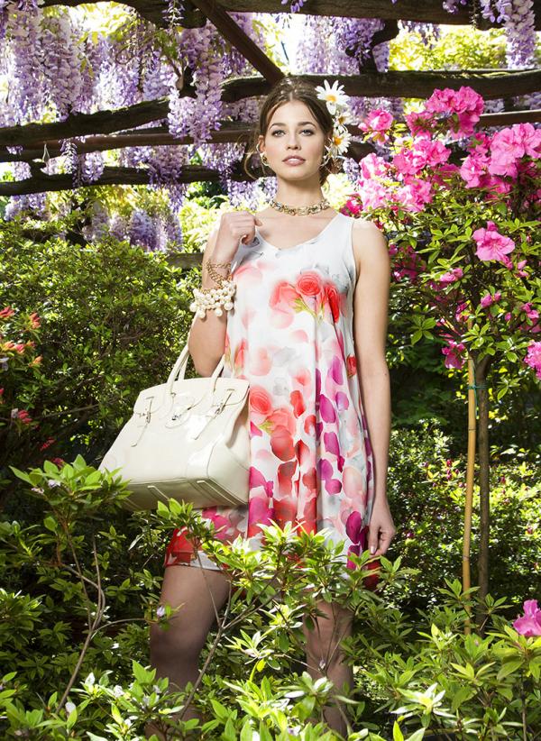 Pietro Brunelli Dress - Lago Di Como American Beauty-0