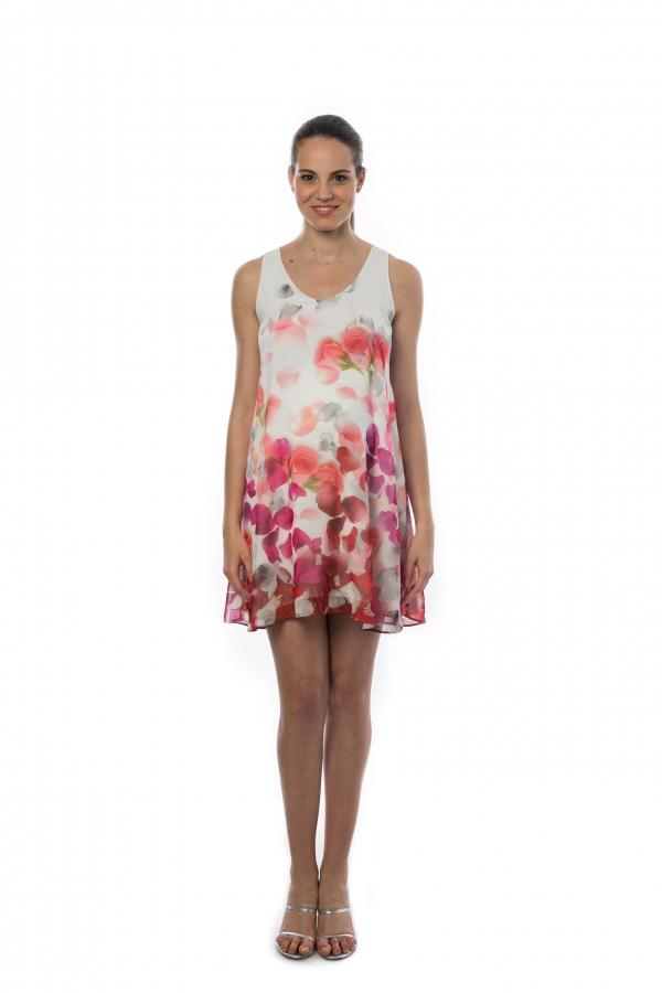 Pietro Brunelli American Beauty chiffon maternity dress