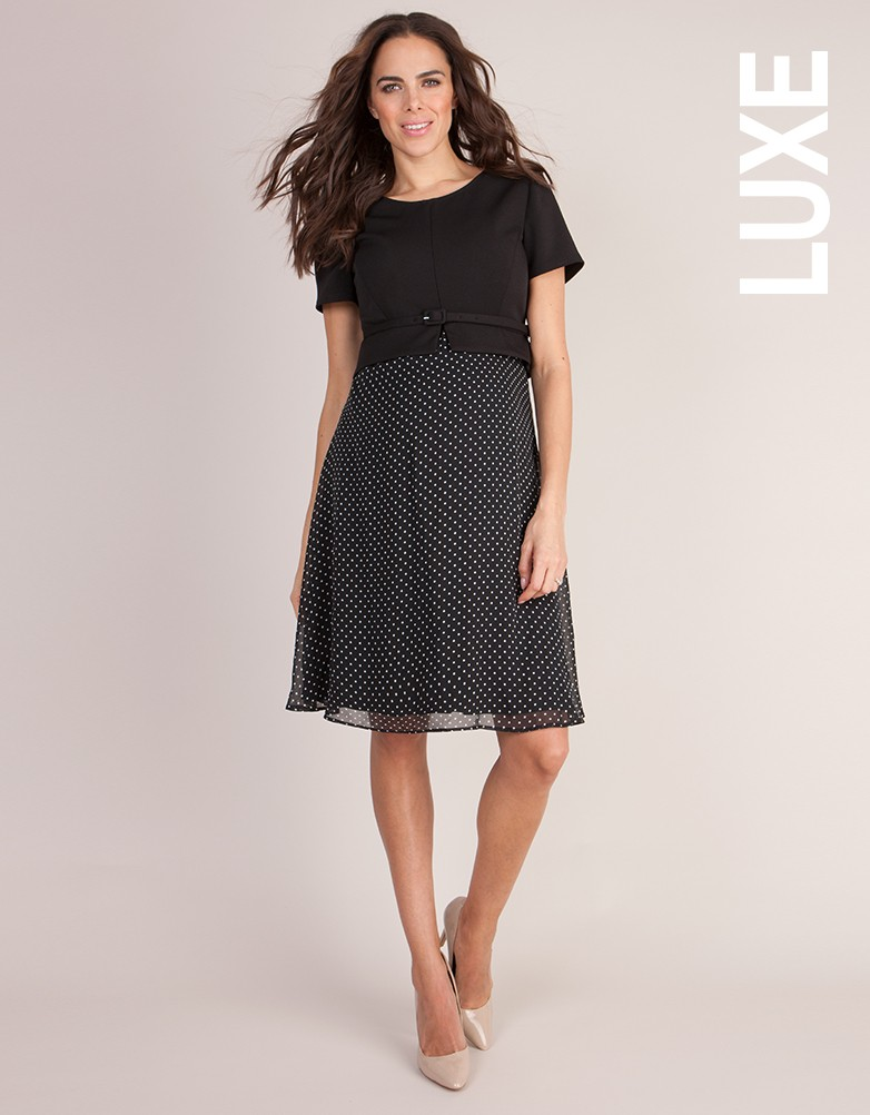 ae9a6b880a699 Seraphine Luxe Maternity/Nursing dress for special occasions