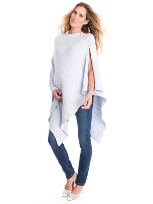 Seraphine cable knit nursing wrap