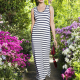 a comfortable everyday maxi dress in stripes