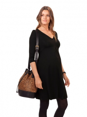 chic maternity wrap dress for all occasions