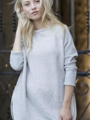 East End Sweater in Light Grey